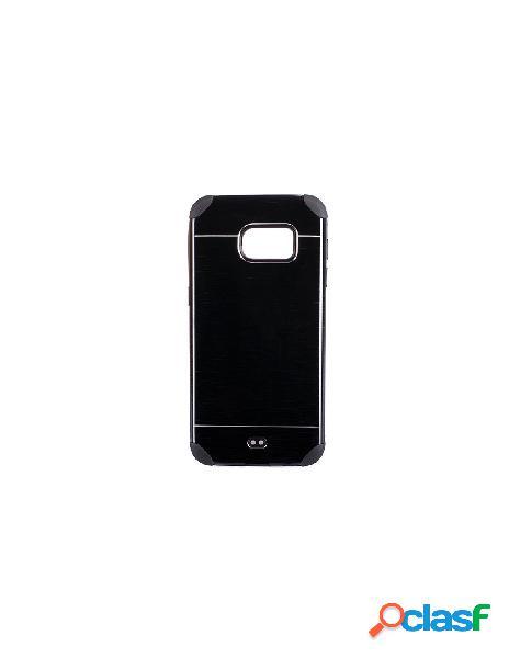 Funda Metalizada Doble Negro Samsung Galaxy S7 Edge