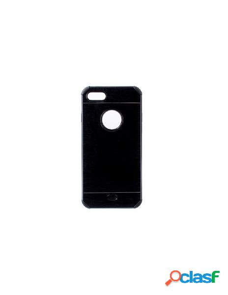 Funda Metalizada Doble Negro iPhone 6 Plus