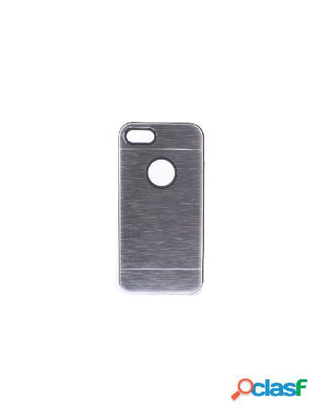 Funda Metalizada Doble Plata iPhone 6 Plus