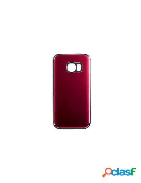 Funda Metalizada Doble Rojo Samsung Galaxy S7 Edge