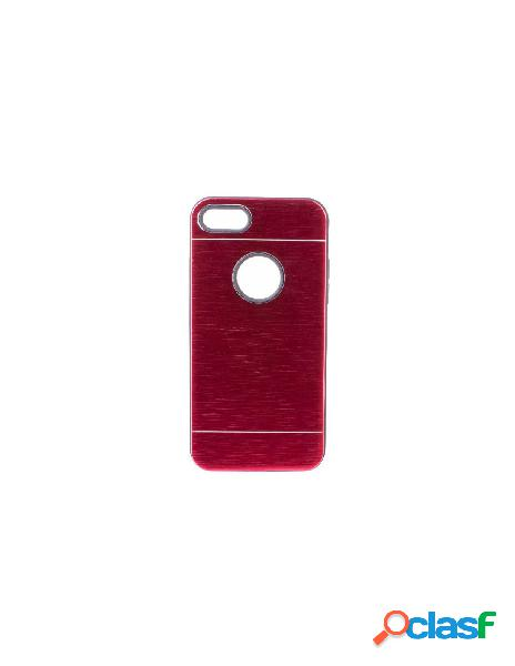 Funda Metalizada Doble Rojo iPhone 6S Plus