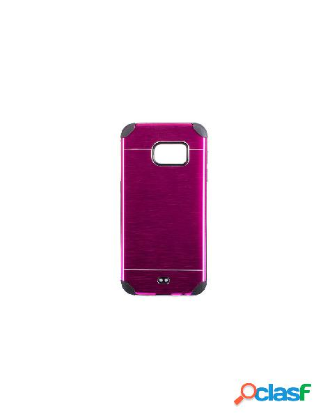 Funda Metalizada Doble Rosa Samsung Galaxy S7 Edge