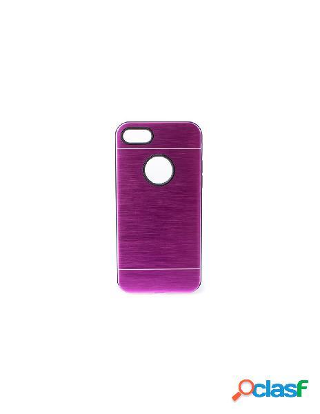 Funda Metalizada Doble Rosa iPhone 6 Plus