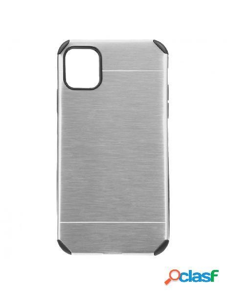 Funda Metalizada Plata para iPhone 11 Pro