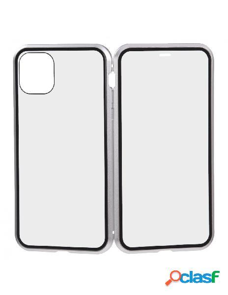 Funda Mágnetica Plata para iPhone 11 Pro