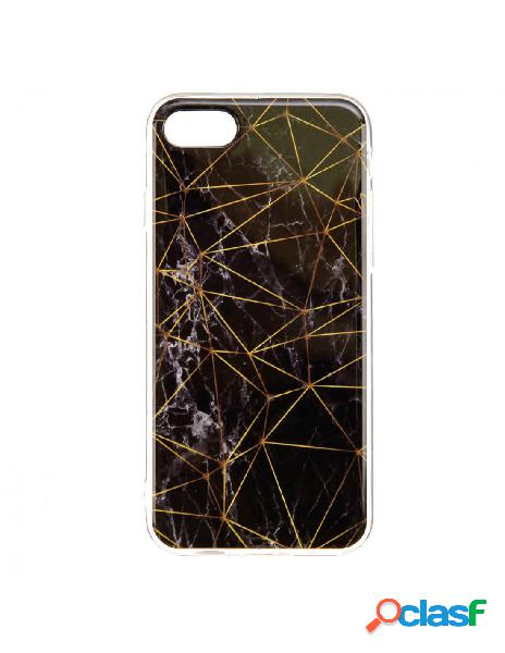 Funda Mármol Triángulos para iPhone 8