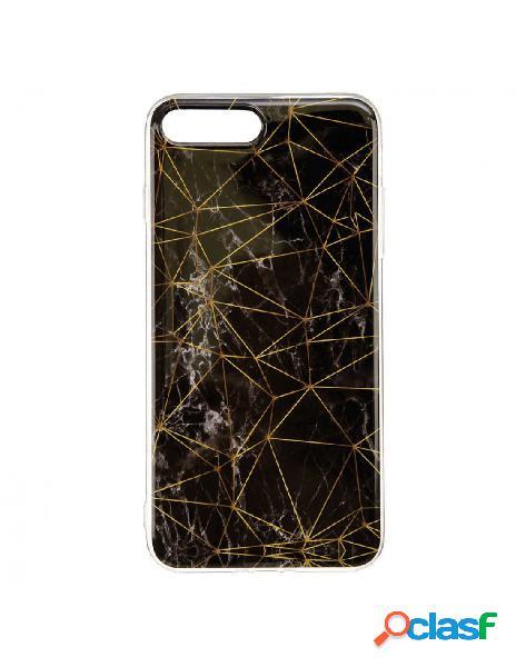 Funda Mármol Triángulos para iPhone 8 Plus