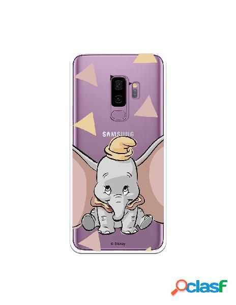 Funda Oficial Disney Dumbo silueta transparente para Samsung