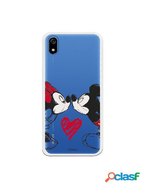Funda Oficial Disney Mickey y Minnie beso para Xiaomi Redmi