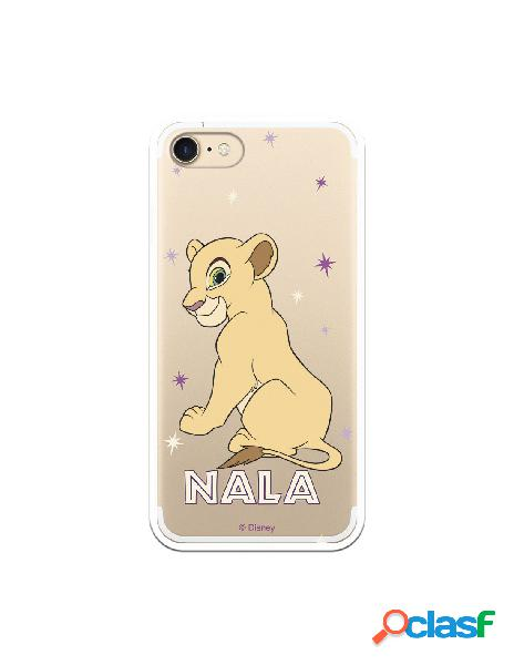 Funda Oficial Disney Nala Estrellas Transparente para iPhone