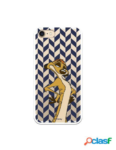 Funda Oficial Disney Timon Transparente para iPhone SE - El
