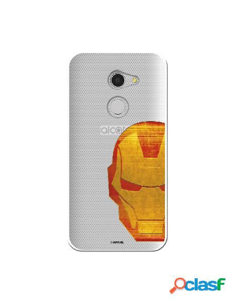 Funda Oficial Iron Man Clear para Alcatel A3