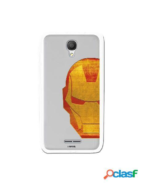 Funda Oficial Iron Man Clear para Alcatel OneTouch Pixi 4