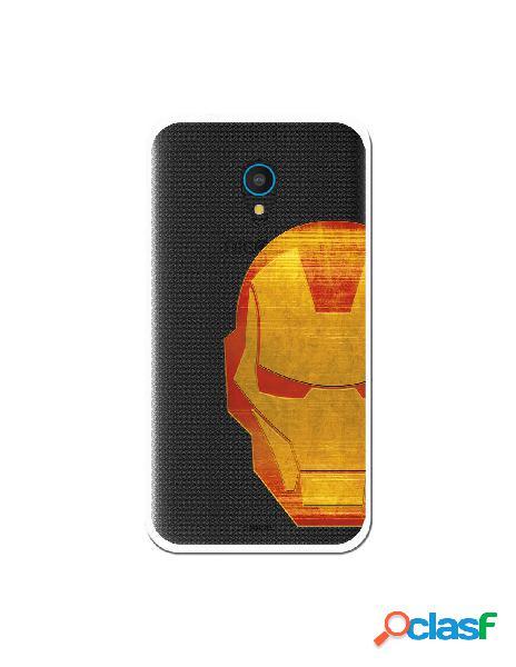 Funda Oficial Iron Man Clear para Alcatel U5 Plus