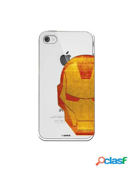 Funda Oficial Iron Man Clear para iPhone 4