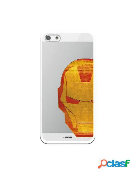 Funda Oficial Iron Man Clear para iPhone 5