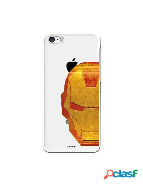 Funda Oficial Iron Man Clear para iPhone 5C