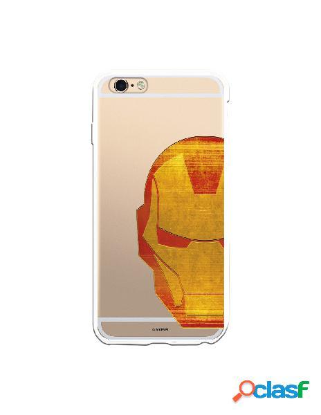 Funda Oficial Iron Man Clear para iPhone 6 Plus