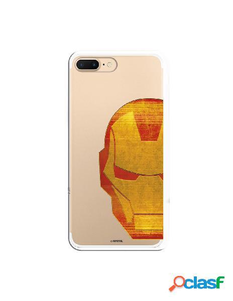 Funda Oficial Iron Man Clear para iPhone 7 Plus