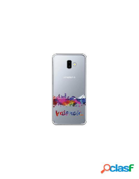 Funda Oficial Skyline Valencia transparente Samsung Galaxy