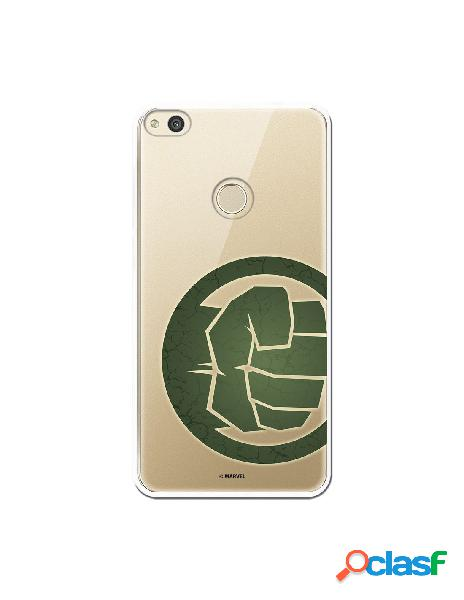 Funda Oficial The Hulk Clear para Huawei P8 Lite 2017