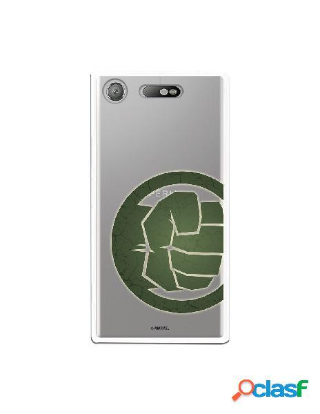 Funda Oficial The Hulk Clear para Sony Xperia XZ1