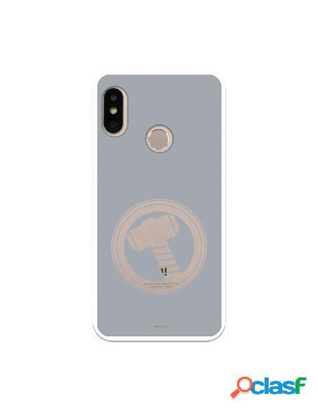 Funda Oficial Thor Fondo gris para Xiaomi Mi A2 Lite