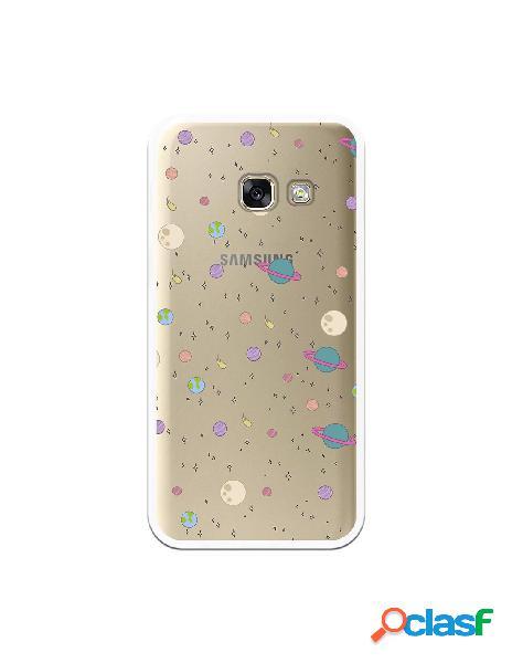 Funda Planetas para Samsung Galaxy A3 2017