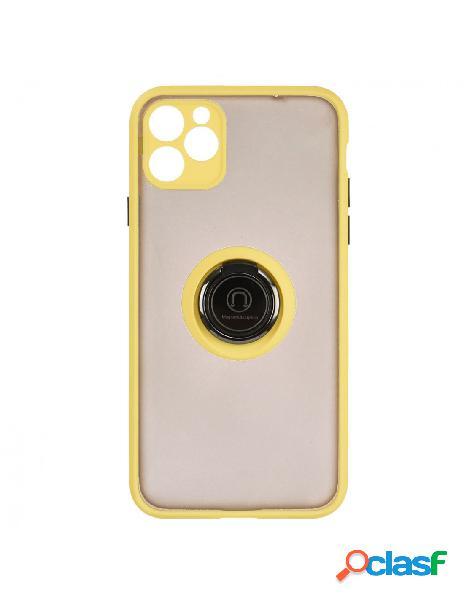 Funda Ring Transparente Amarilla para iPhone 11