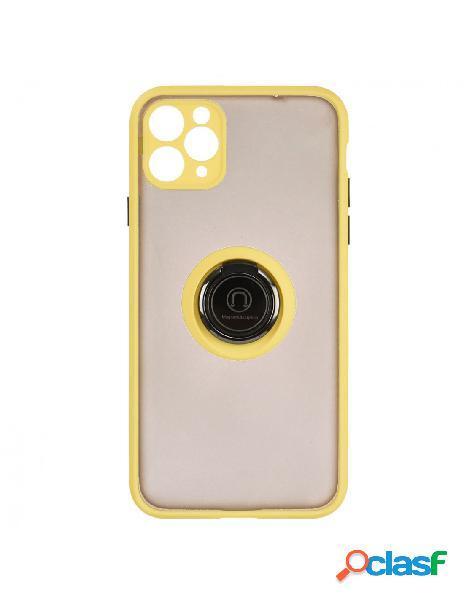 Funda Ring Transparente Amarilla para iPhone 11 Pro