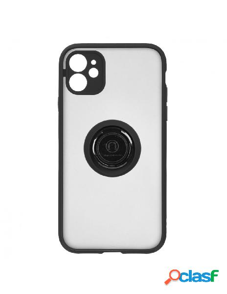 Funda Ring Transparente Negra para iPhone 11
