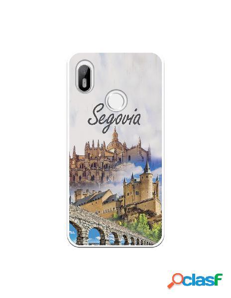 Funda Segovia 3 Monumentos para Bq Aquaris C