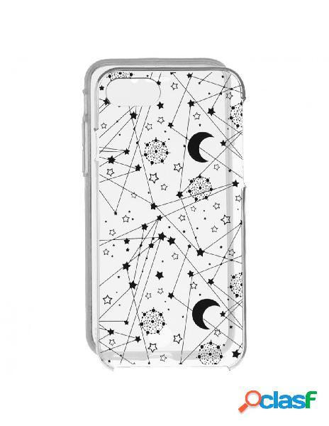 Funda Silicona táctil Constelaciones para iPhone SE