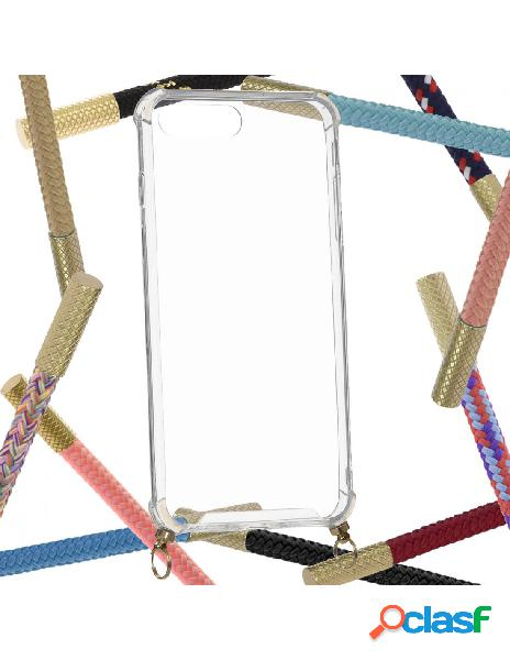 Funda Transparente con Colgante para iPhone 8 Plus