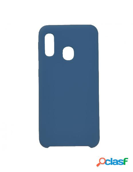 Funda Ultra Suave Azul Marino para Samsung Galaxy A20e