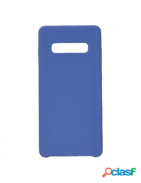 Funda Ultra Suave Azul Marino para Samsung Galaxy S10 Plus