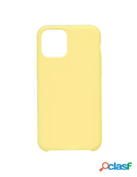 Funda Ultra suave Amarillo Pastel para iPhone 11 Pro