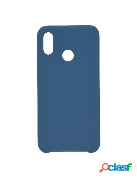 Funda Ultra suave Azul Marino para Huawei P20 Lite