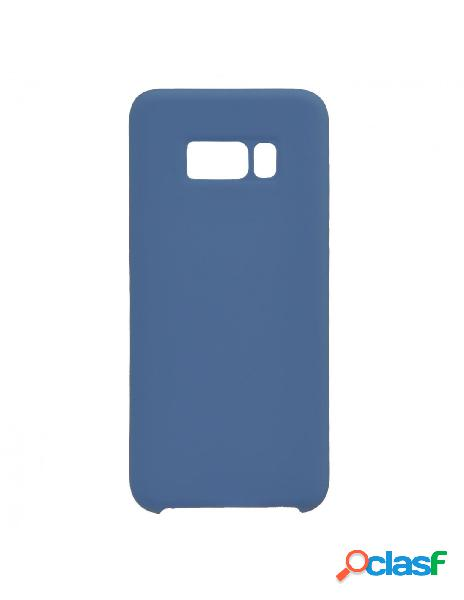 Funda Ultra suave Azul Marino para Samsung Galaxy S8