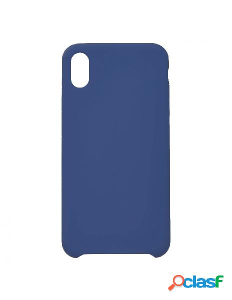 Funda Ultra suave Azul Marino para iPhone XS Max