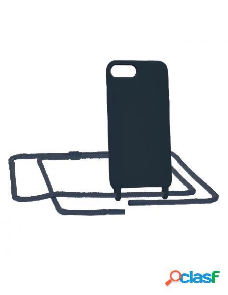 Funda Ultra suave Azul con Colgante para iPhone 6s Plus
