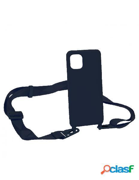 Funda Ultra suave Lanyard Azul para iPhone 11 Pro