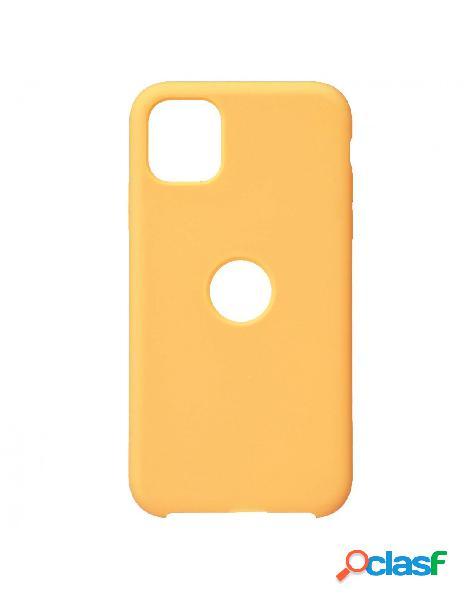 Funda Ultra suave Logo Amarilla para iPhone 11 Pro
