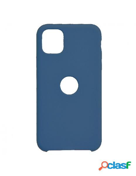 Funda Ultra suave Logo Azul Marino para iPhone 11