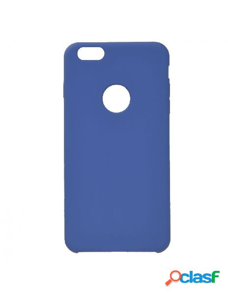 Funda Ultra suave Logo Azul Marino para iPhone 6 Plus