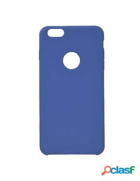 Funda Ultra suave Logo Azul Marino para iPhone 6S Plus