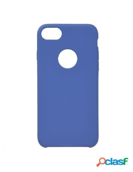 Funda Ultra suave Logo Azul Marino para iPhone 8