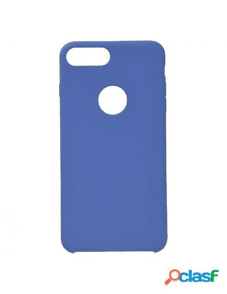 Funda Ultra suave Logo Azul Marino para iPhone 8 Plus