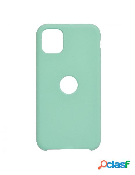 Funda Ultra suave Logo Azul para iPhone 11 Pro