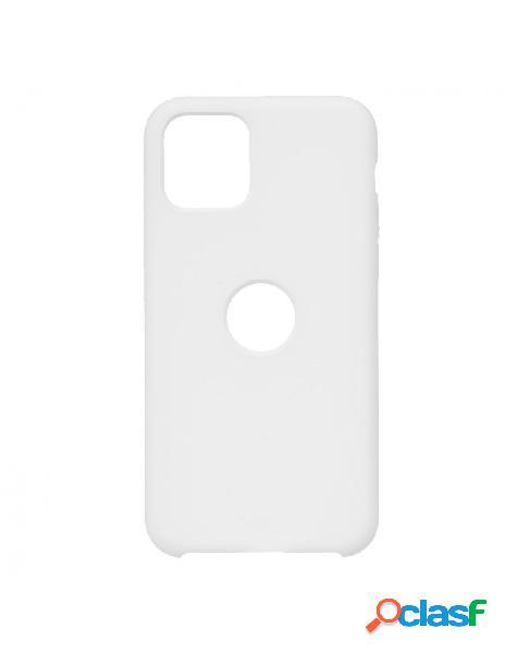 Funda Ultra suave Logo Blanca para iPhone 11 Pro